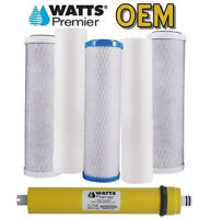 Watts Premier Wp4-v 36 Gpd Annual Filter Bundle With 560016 Membrane
