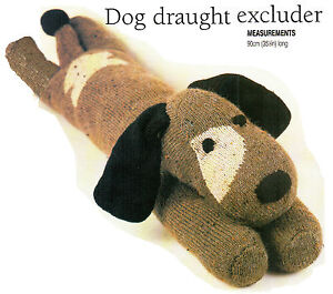 Knitting Pattern For Dog Draught Excluder : 35.3