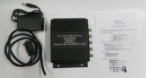 GBS 8219 XVGA Box CGA EGA RGB RGBS RGBHV to VGA Monitor Video Converter for FHKD