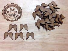 Angel Wing MDF X30 Mini Angel Wings, Fairy, Shape, Craft, Blank, Wooden