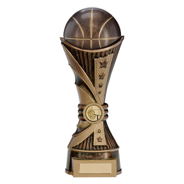 All Star Basketball Trophy Stunning Tower Award - FREE Engraving 2 sizes PA17152