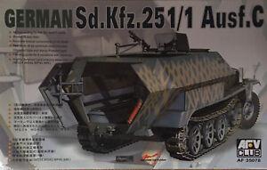 AFV-Club-1-35-Scale-Sd-Kfz-251-1-Ausf-C-Plastic-Model-Kit-AF35078