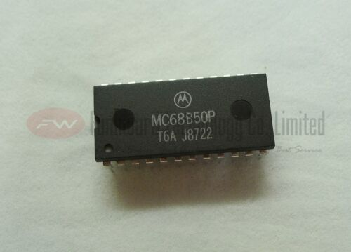 MC68B50P MC68B50CP MC6850P ASYNCHRONOUS COMMUNICATIONS INTERFACE x 2pcs