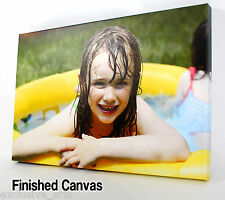 PERSONALISED XL 30x20 LARGE A1 CANVAS PRINTS Your PHOTO ON  18MM DEEP FRAME
