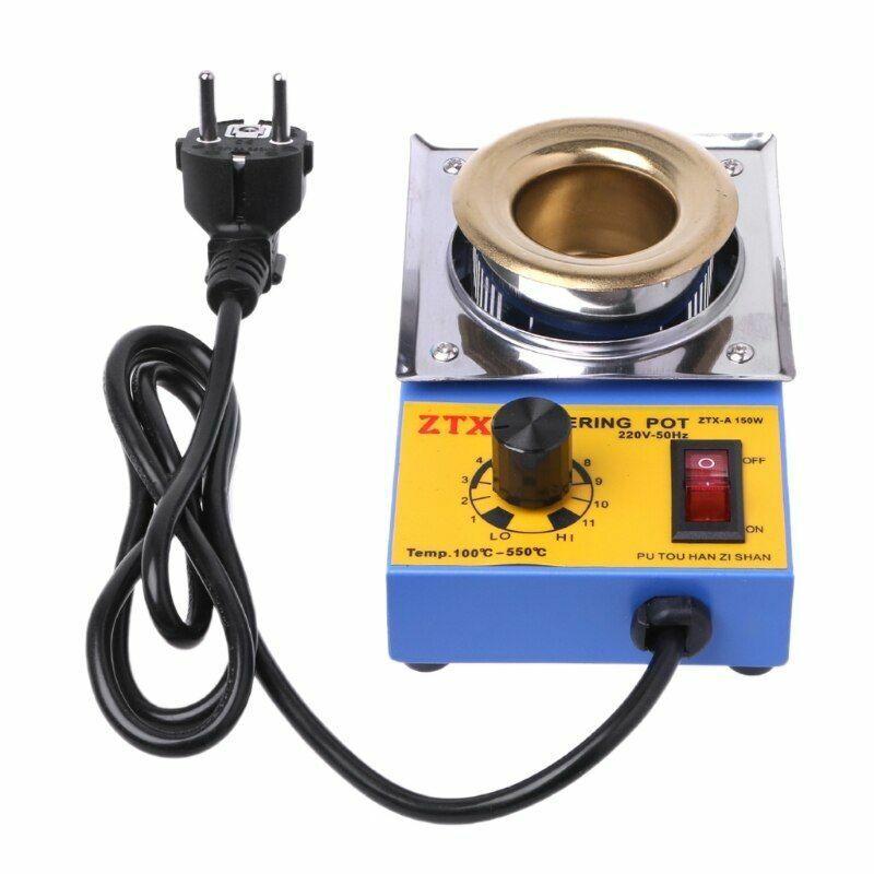 150w Lead-Free Adjustable Temperature Tin Furnace With EU Plug High Quality