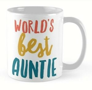 Image Is Loading Auntie Aunty Aunt Mug Birthday Gift Idea Present