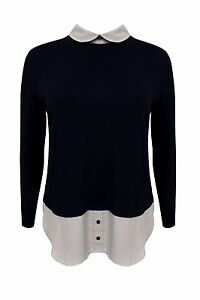New-Emily-Simply-Be-Ladies-2-in-1-Beige-Black-Plus-Size-Shirt-Top-16-26