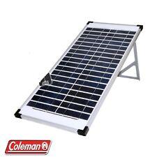 Lot of 3 Coleman 40 Watt Crystalline Solar Panel 12V 40W (120 watt total)