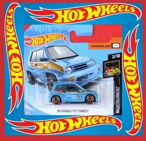 Hot-Wheels-2019-039-85-Honda-City-Turbo-II-81-250-neu-amp-ovp