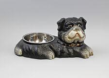 a9-37951 Cast Iron Figurative Fressnapf Dog