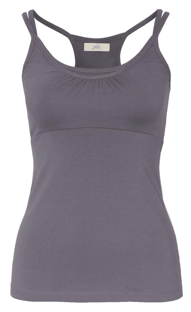 Yoga-top  jane  - Charcoal Grau von Jaya