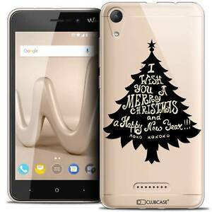 Gel-Case-Cover-For-Wiko-Lenny-4-5-034-Extra-Fine-Flexible-Christmas-2017-XOXO-Tree