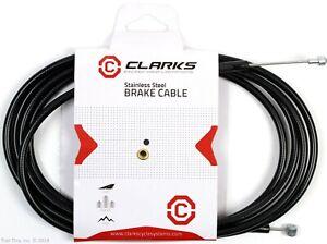Clarks-Universal-MTB-Road-Bike-Stainless-Steel-Brake-Cable-amp-Housing-Kit-Set