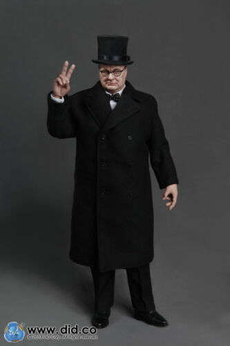 1//6 DID 80090 1//6th WWII British Prime Minister Winston Churchill Figure Model