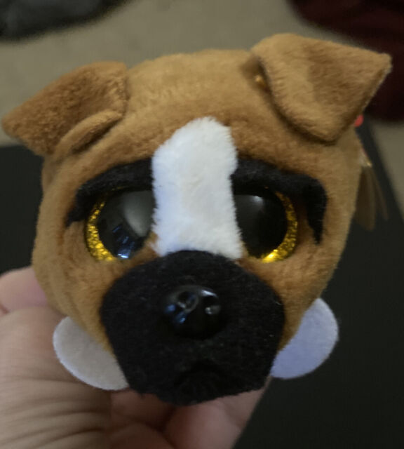 """SALE! NEW! TY Beanie Teeny Tys 4"""" Diggs the Dog, Stackable Plush, Great Gift!"""
