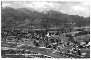 AK-Arzbach-Luftbildansicht-mit-Isar-und-Benediktinerwand-1957
