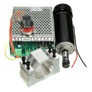 Machifit-er11-Chuck-CNC-500w-Spindle-Motor-with-52mm-clamps-and-Power-Supply-spe