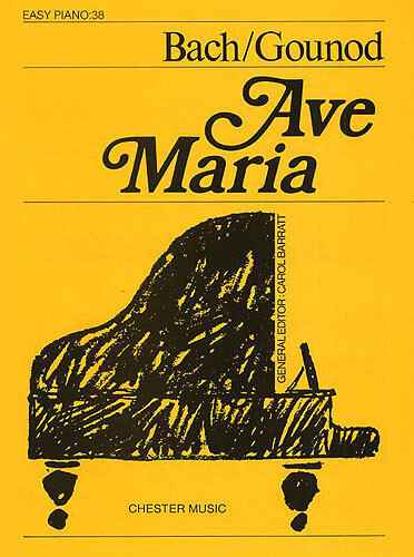 Ave Maria Easy Piano No.38 Learn to Play Beginner Classical Music Book