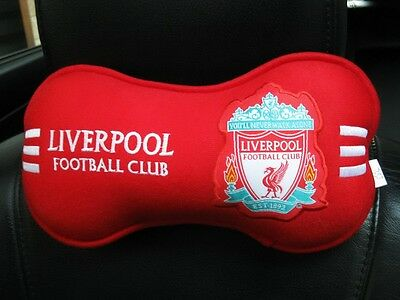 Liverpool Football Club Car Truck Accessory 1 pc Neck Rest Cushion Head Pillow