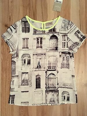 BNWT Girls Next Blouse With Window Print, Age 8 Years