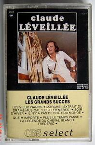 CASSETTE-DE-1989-CLAUDE-LEVEILLEE-LES-GRANDS-SUCCES