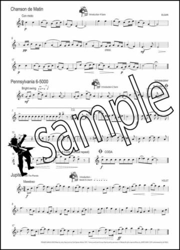 Won Up for Saxophone Sheet Music Book 45 Unaccompanied Tunes Peter Lawrance