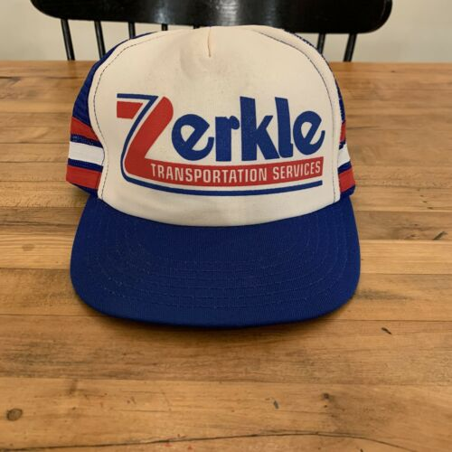 Vintage 3 Stripe Hat - Zerkle Transportation Servi