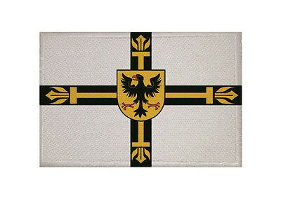Aufnäher Deutscher Orden Fahne Flagge Aufbügler Patch 9 x 6 cm