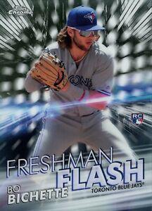 2020 Topps Chrome Bo Bichette #FF-1 Freshman Flash Rookie Card (RC)