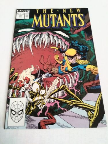 The New Mutants #61 March 1988 Mar 88 Marvel Comics