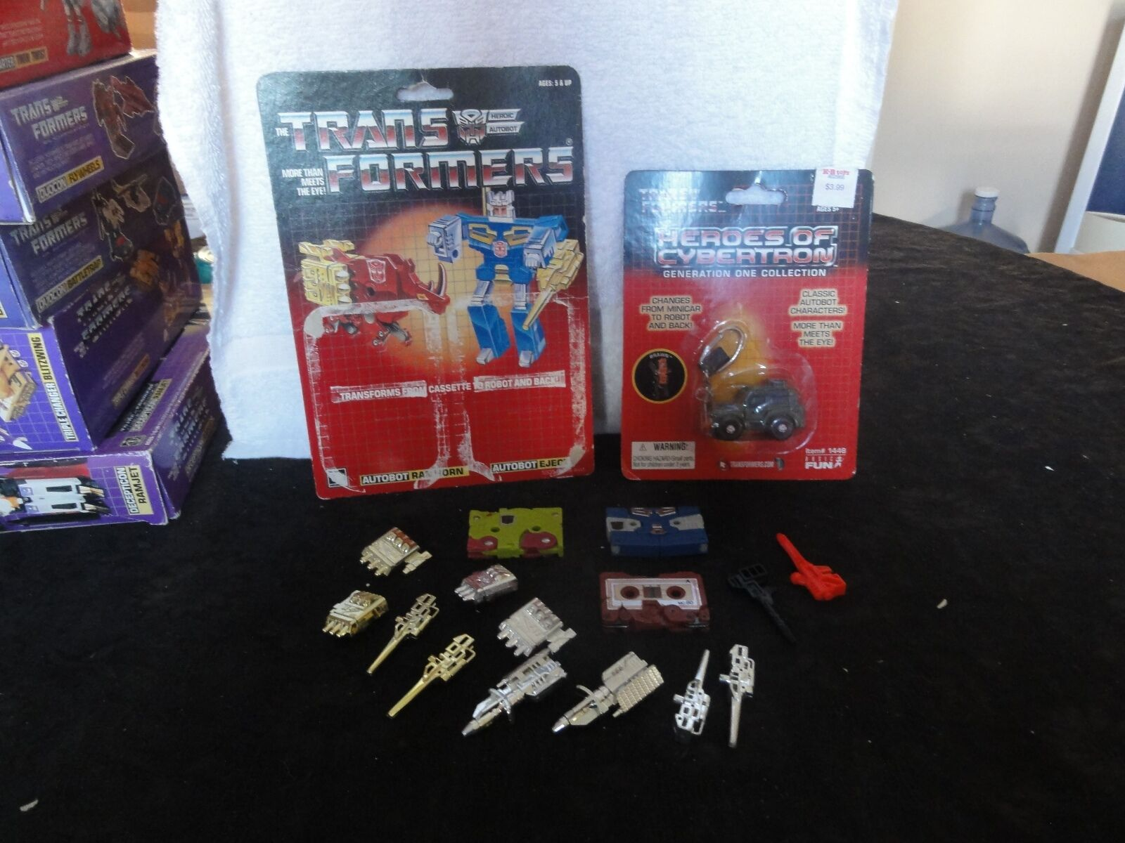 Transformers Generation One Carbot Cassettes 100 % Complete Mib Box Moc
