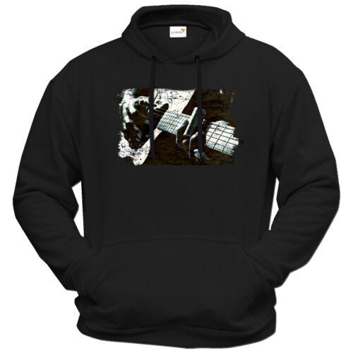 Getshirts-rahmenlos ® cadeaux-Hoodie-musique Grungy Guitar
