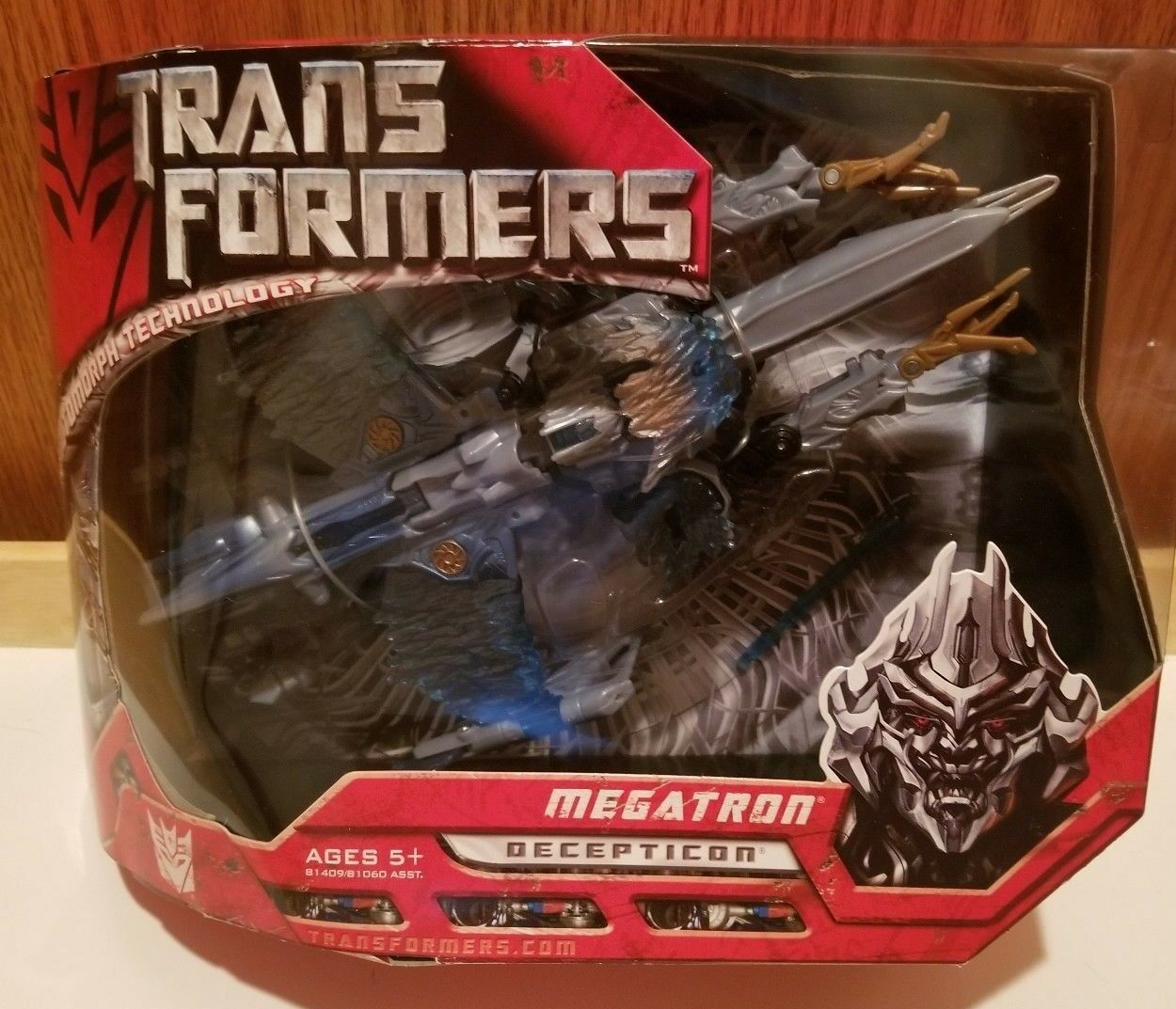 Transformers Movie 2007 Voyager class Megatron