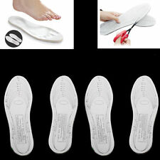2 Pair Memory Foam Insoles Pads Cushion Foot Feet Shoe Walking Running Men Women