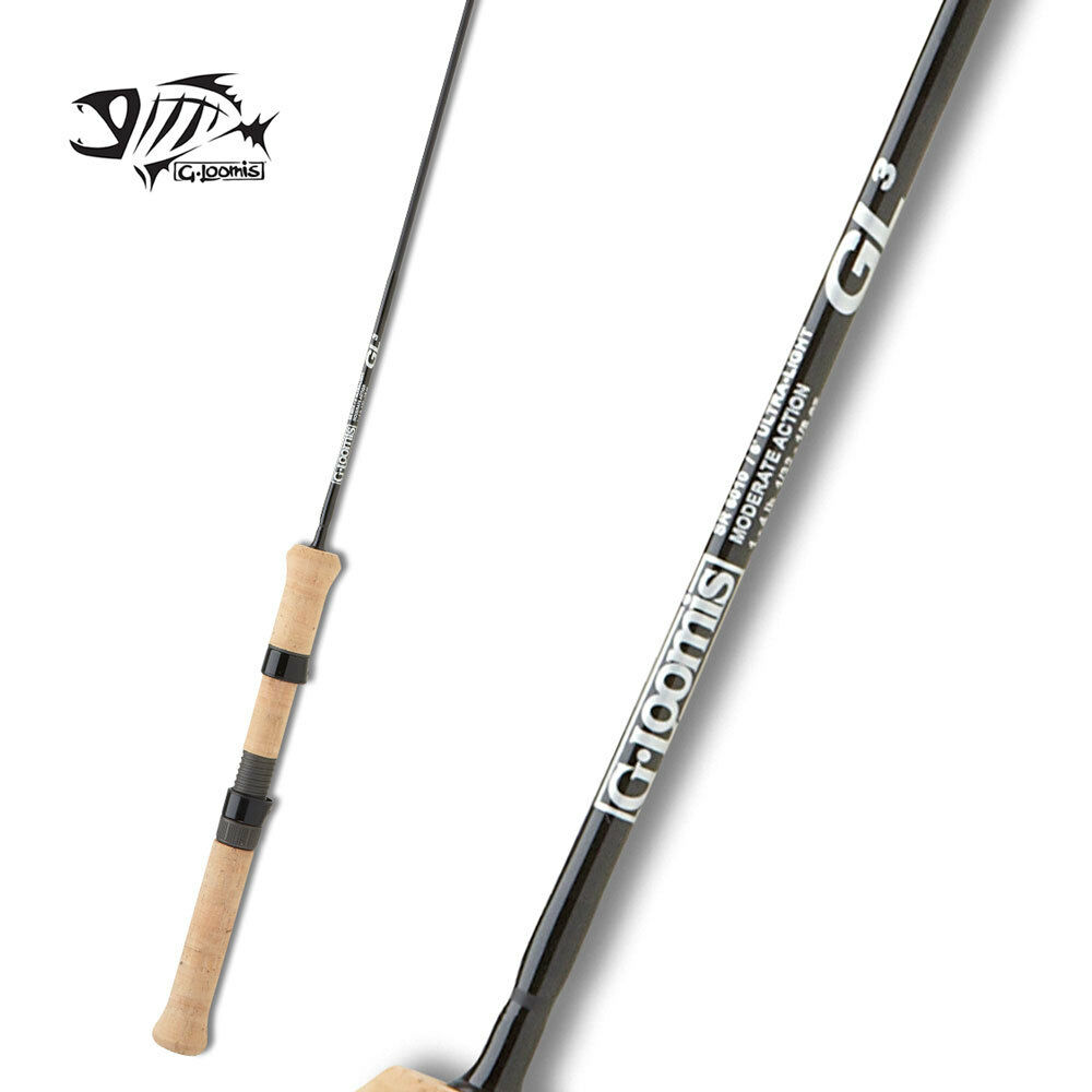 G Loomis Trout & Panfish Spinning Rod SR60102 GL3 5'0 Ultra Light 2pc