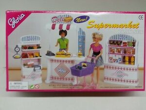 Gloria-Doll-House-Furniture-9928-Supermarket-for-11-5-034-Barbie-size