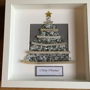 Bespoke Glass And Drift Wood Christmas Tree Box