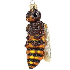 Honey-Bee-Polish-Glass-Christmas-Ornament-Made-in-Poland-Tree-Decoration