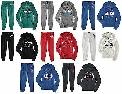 AEROPOSTALE HOODIE Sweatshirt /& SWEAT PANT Lounge Track SUIT Sweatsuit  XS,S,M,L