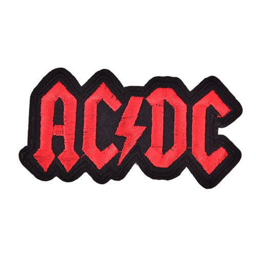 AC//DC Iron On Patches Embroidered Patch ForCloth Cartoon Badge Garment HV