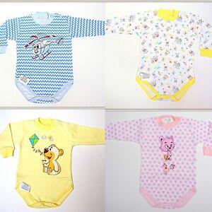 Promotion! Baby Girl Boy Révélateurs Babygrows 0 - 18 Mois 100% Coton Amusant Imprimés!-afficher Le Titre D'origine