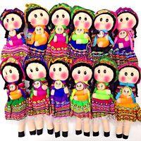 Worry Doll Story Doll Peru Guatemala Fair Trade Mayan Artisan Handmade With Love