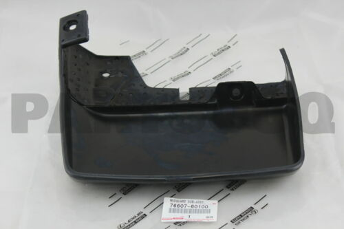 REAR RH 76607-60100 QUARTER PANEL 7660760100 Genuine Toyota MUDGUARD SUB-ASSY