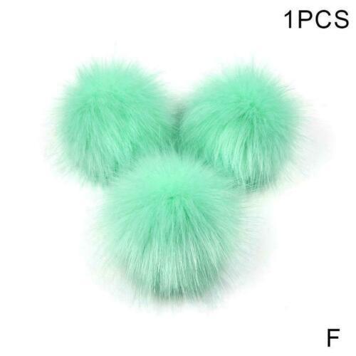 Imitation Fuchshaarball 10-15cm Wollball diy Kleidung Schuhe und Accessoire O3F0