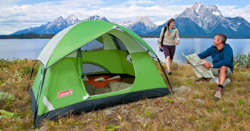 Coleman Sundome 4-Person Tent Outdoors Camping