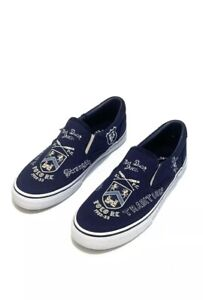 5137757b Details about New Polo Ralph Lauren Mens Thompson III Navy Canvas Slip On  Sneaker Size 10 D