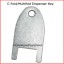 Kimberly-Clark-770101-key-for-C-Fold-Mutifold-Hand-Towel-Dispensers-12-pk thumbnail 2