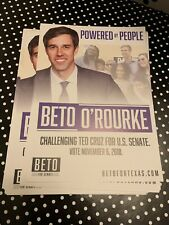 Beto O'Rourke Poster Brand New Beto For Senate 2018 Texas 18x24 Nakatomi Orourke