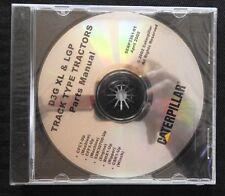 CATERPILLAR D3G XL LGP TRACK TYPE TRACTOR PARTS MANUAL CD SERP 3361-01 SEALED
