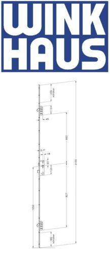 Winkhaus Mehrfachverriegelung Türverschluss STV-F1660 92mm Ausw Dorn 35 45 55 65
